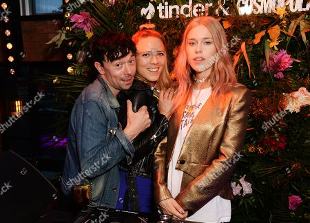 Robbie Furze, Sophie Moss and Mary Charteris