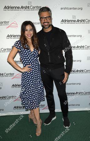 Bianca Marroquin and Jaime Camil