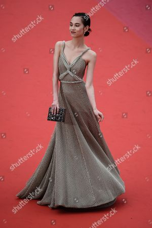 Kiko Mizuhara arrives for the screening of 'Yomeddine' during the 71st annual Cannes Film Festival, in Cannes, France, 09 May 2018. The movie is presented in the Official Competition of the festival which runs from 08 to 19 May.