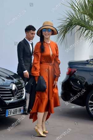 Editorial photo of Fan Bing Bing out and about, 71st Cannes Film Festival, France - 09 May 2018