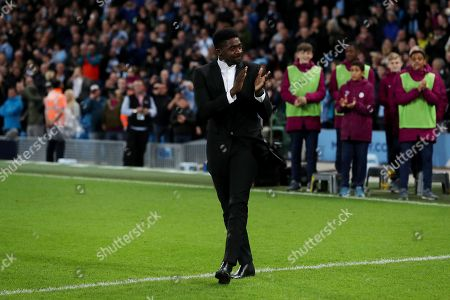Kolo Toure of Manchester City during his presentation party