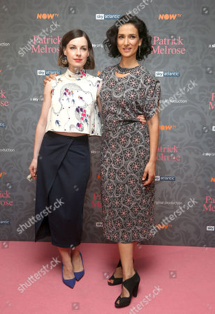 Jessica Raine and Indira Varma