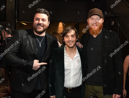 Singer/Songwriters Chris Young, Charlie Worsham and Eric Paslay.