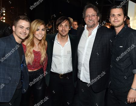Singer/Songwriters Hunter Hayes, Lindsay Ell, Charlie Worsham, Jerry Douglas and Steve Moakler.
