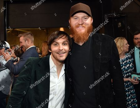 Singer/Songwriters Charlie Worsham and Eric Paslay.