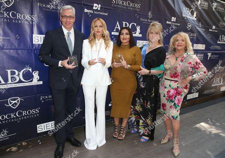 Stock Image of Dr. Drew, Rachel Zoe, Mercedes Javid, Gloria Gebbia, Beverly Cohen