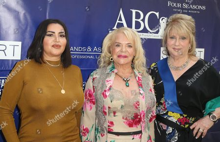 Mercedes Javid, Gloria Gebbia, Beverly Cohen