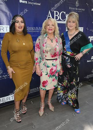 Stock Picture of Mercedes Javid, Gloria Gebbia, Beverly Cohen