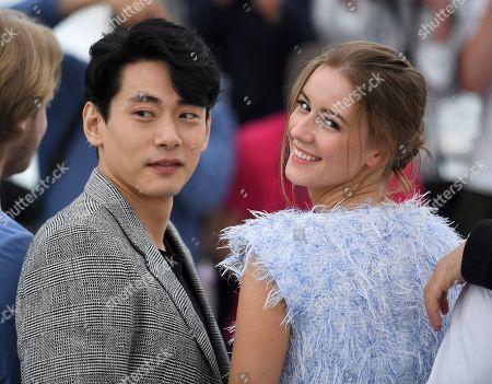 Teo Yoo and Irina Starshenbaum
