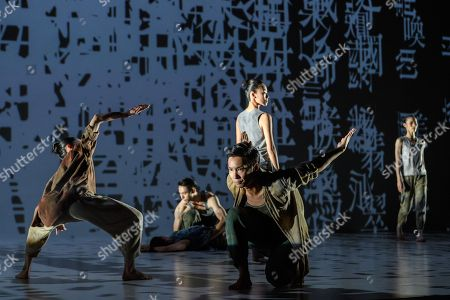 Editorial photo of 'Formosa', by the Cloud Gate Dance Theatre of Taiwan at Sadler's Wells, London, UK - 09 May 2018