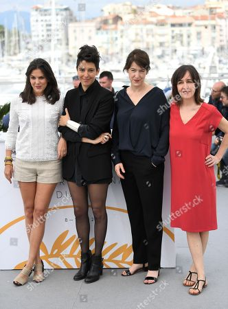 Stock Image of Iris Brey, Marie Amachoukeli-Barsacq, Ursula Meier and Jeanne Lapoirie