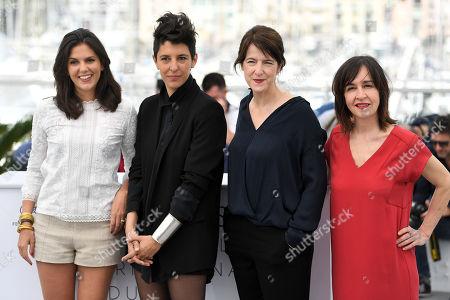 Iris Brey, Marie Amachoukeli-Barsacq, Ursula Meier and Jeanne Lapoirie