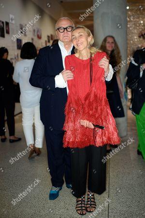 Manolo Blahnik and Franca Sozzani