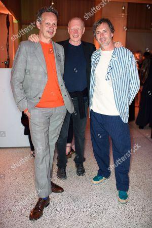 Tom Dixon, Chris Ruhs and Marc Newson