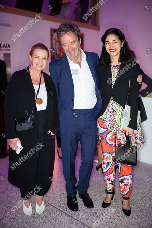 Anya Hindmarch, James Seymour and Caroline Issa