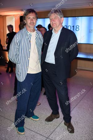 Stock Photo of Marc Newson and Deyan Sudjic