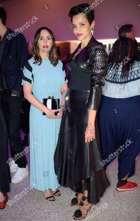 Tania Fares and Farida Khelfa