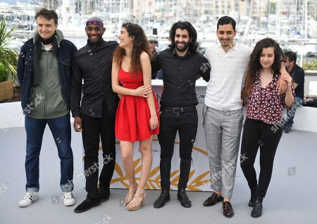 Stock Photo of Antoine Desrosieres, Elis Gardiole, Inas Chanti, Mehdi Dahmane, Sidi Mejai and Souard Arsane