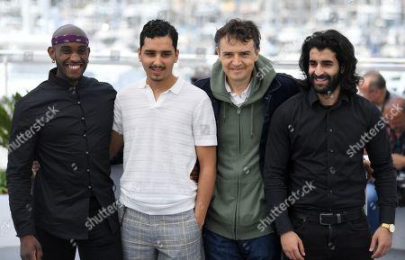 Stock Image of Elis Gardiole, Sidi Mejai, Antoine Desrosieres and Mehdi Dahmane