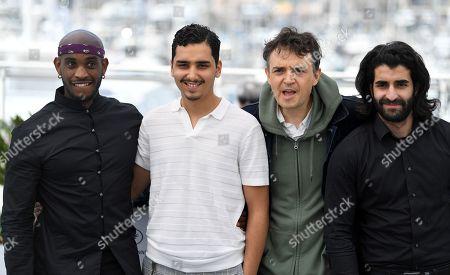 Elis Gardiole, Sidi Mejai, Antoine Desrosieres and Mehdi Dahmane