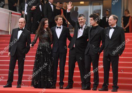 Francois Erlenbach, Adele Wismes, Pierre Deladonchamps, Christophe Honore, Vincent Lacoste and Denis Podalydes