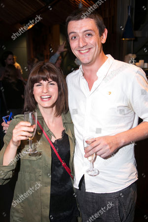 Jemima Rooper and John Dagleish