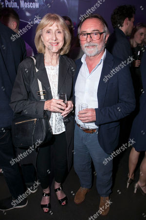 Stock Picture of Pamela Miles and Ron Cook