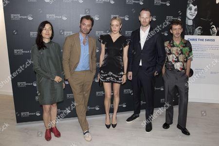 Eva Sangiorgi, Augustin Trapenard, Chloe Sevigny, Joachim Trier, Nahuel Perez Biscayart
