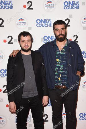 Karim Leklou and Romain Gavras