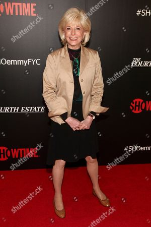 """Lesley Stahl attends a panel discussion about the Showtime documentary """"The Fourth Estate"""" at TheTimesCenter, in New York"""