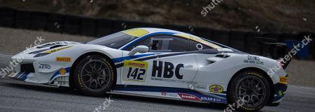 Editorial photo of Ferrari Challenge Coppa Shell Race 2:, Monterey, USA - 06 May 2018