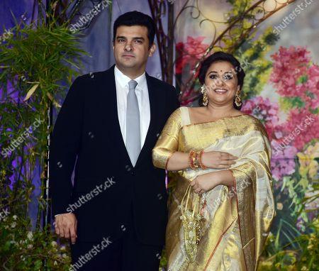 Editorial picture of Sonam Kapoor and Anand Ahuja wedding, Mumbai, India - 08 May 2018