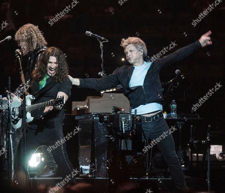 David Bryan, Phil X and Jon Bon Jovi