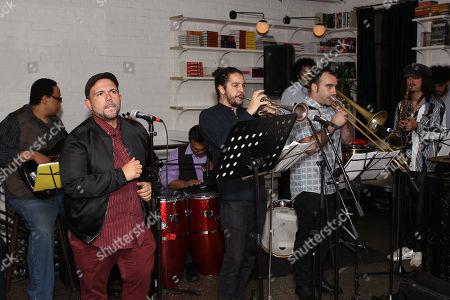 Stock Picture of John Benitez Salsa Band