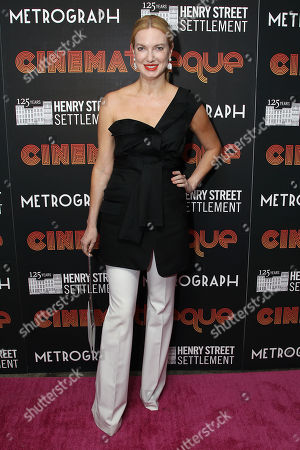 Editorial image of Henry Street Settlement 2nd Annual CINEMAtheque Party, New York, USA - 09 May 2018