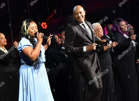 Jekalyn Carr and Brian Courtney Wilson
