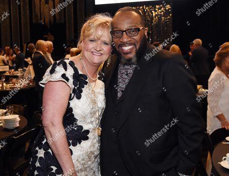 Honoree Comedian Chonda Pierce and Honoree Bishop Marvin Sapp