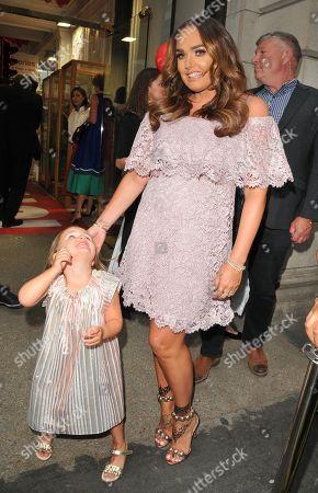 Tamara Ecclestone and her daughter Sophia Ecclestone-Rutland
