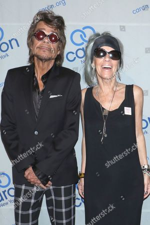 David Johansen and Mara Hennessey