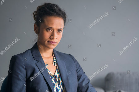 (Ep 3) - Angel Coulby as DI Cathy Hudson.