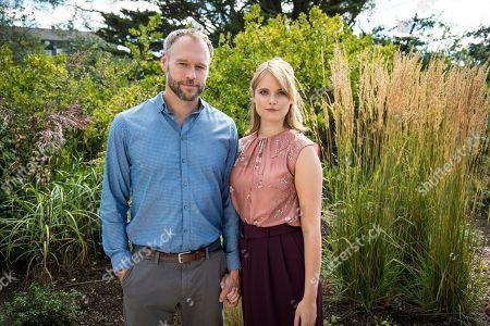 (Ep 2) - Elliot Cowan as Tom Wilson and Hannah Britland as Melissa.