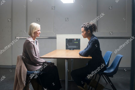 (Ep 4) - Angel Coulby as DI Cathy Hudson and Hermione Norris as Alice.