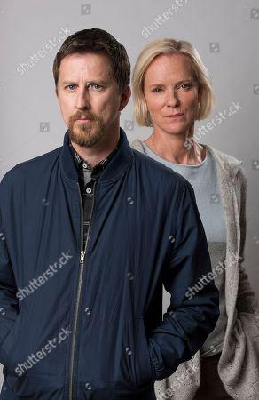 Editorial photo of 'Innocent' TV Series UK  - May 2018