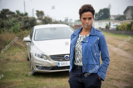 Stock Photo of (Ep 4) - Angel Coulby as DI Cathy Hudson.