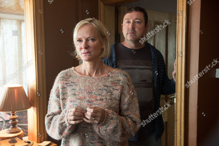 (Ep 2) - Hermione Norris as Alice and Daniel Ryan as Phil.