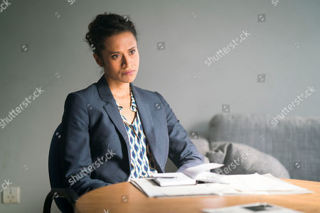 Stock Image of (Ep 3) - Angel Coulby as DI Cathy Hudson.