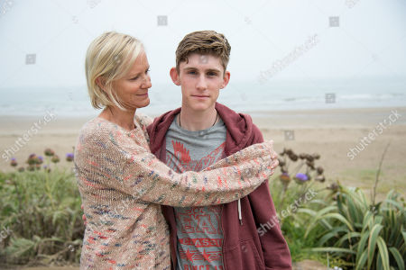 Editorial photo of 'Innocent' TV Show, Series 1, Episodes 1-4,  UK  - May 2018