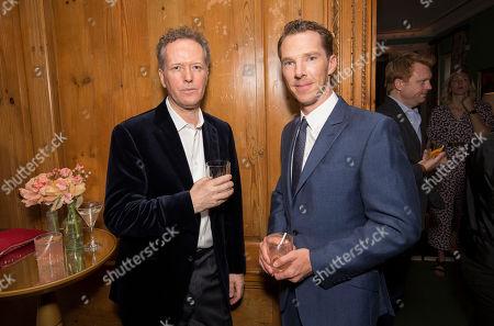 Edward St Aubyn (Writer)& Benedict Cumberbatch