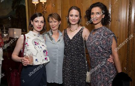 Jessica Raine, Celia Imrie, Anna Madeley and Indira Varma.