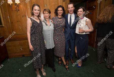 Anna Madeley, Celia Imrie, Indira Varma, Benedict Cumerbatch and Jessica Raine